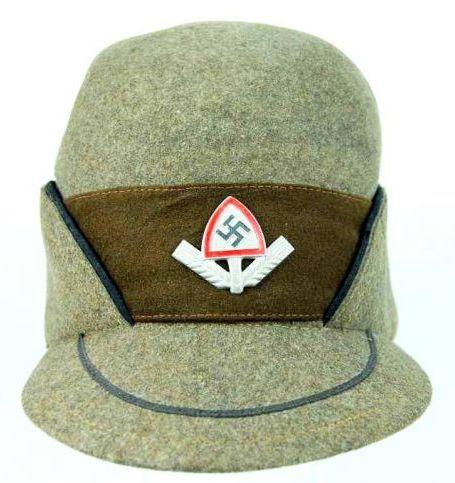 Gorra de Visera para Suboficiales del RAD (RAD Dienstmütze)